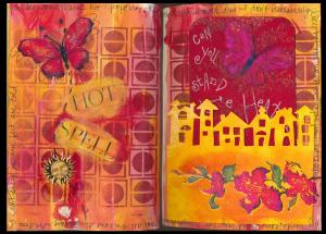 Art Journal hot spell