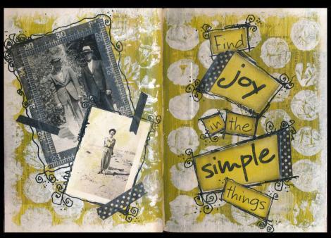 Art Journal joy in the simple things