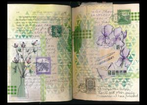 Art Journal letters from home