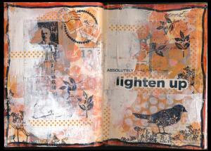 Art Journal lighten up