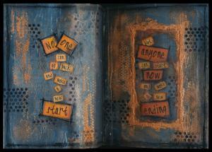 Art Journal make a new ending