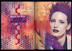 Art Journal mixed brights