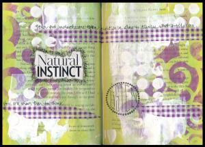 Art Journal natural instinct