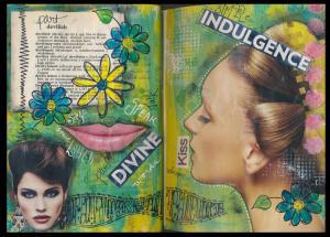 Art Journal part devilish part divine