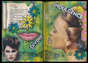 Art Journal part devilish part divine