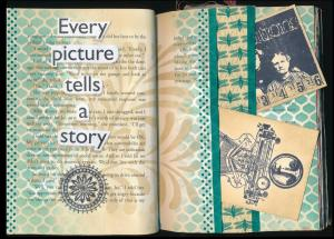 Art Journal picture tells story