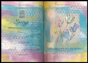 Art Journal spring