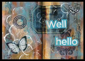 Art Journal Well Hello