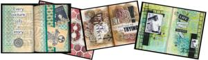 Art Journaling with Stencils image3