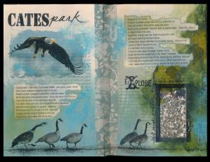 Art Journal Cates Park 1