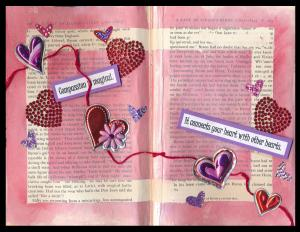 Art Journal Compassion is Magical