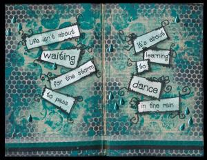 Art Journal Dance in the Rain