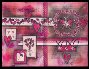 Art Journal In Love With You