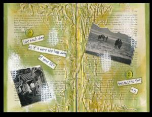Art Journal Last Day of Your Life
