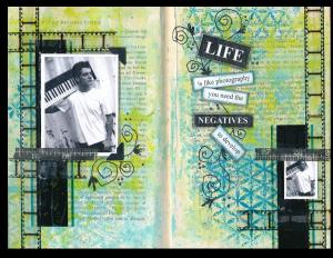Art Journal Negatives