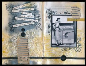 Art Journal Three Sizes Smaller