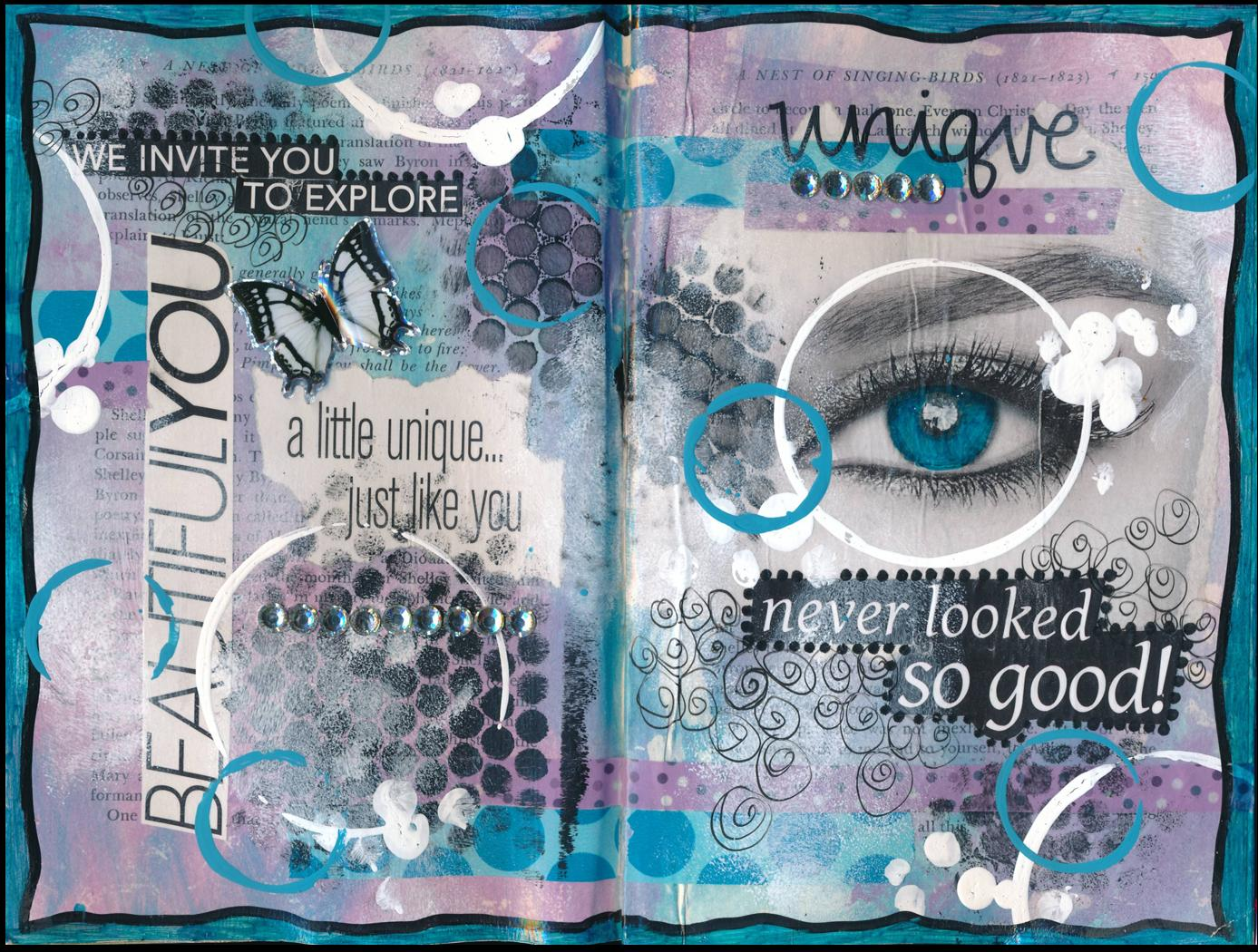 What Is Washi Tape Art Journal Page Unique Never Looked So Good Janni