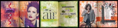 Art Journaling with Magazines image